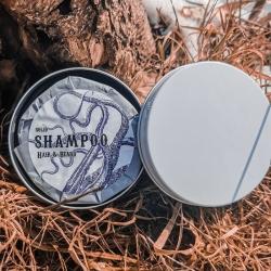 Твердий шампунь Hair&Beard в дорожній упаковці
