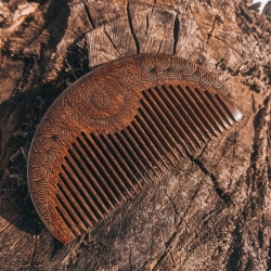 Дерев'яний гребінь для бороди і волосся